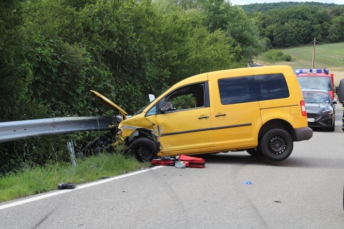 Reipoltskirchen: Gleich mehrere Verletzte nach Verkehrsunfall
