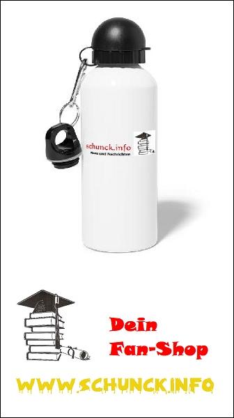 Fan-Shop: Trinkflasche weiß mit Motiv