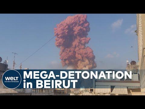 HORROR-EXPLOSION IN BEIRUT: Dutzende Tote und 2700 Verletzte nach gewaltiger Detonation im Hafen