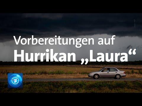 """USA bereiten sich auf Hurrikan """"Laura"""" vor"""
