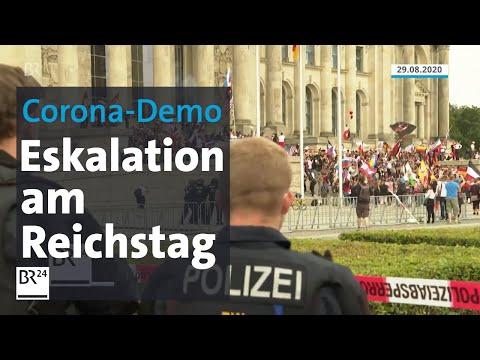 Demo gegen Corona-Maßnahmen: Entsetzen über Eskalation am Reichstag