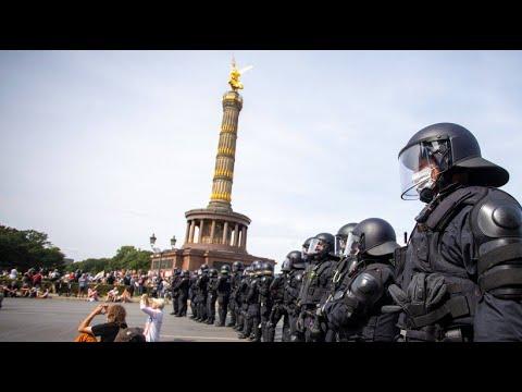 BVG-Urteil: Protestcamp von Corona-Gegnern bleibt verboten