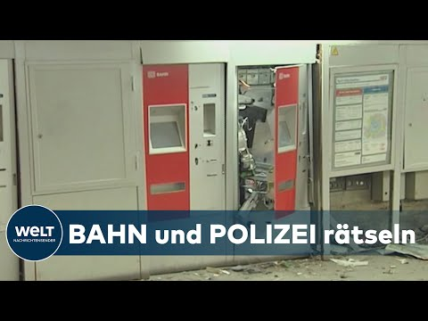 BAHNHÖFE: Explosiv – Schon 54 Ticketautomaten in diesem Jahr gesprengt