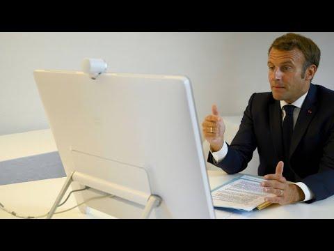 """Macron: """"Wir müssen dem Libanon schnell und effektiv helfen"""""""