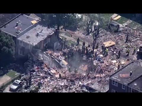 Schwere Explosion in Baltimore