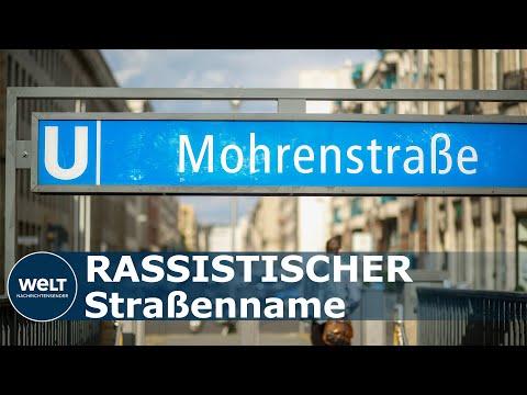 """NACH RASSISMUS-DEBATTE: Berliner """"Mohrenstraße"""" wird umbenannt"""