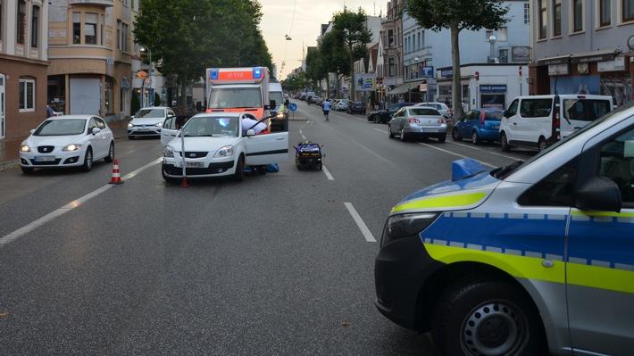 Bremerhaven: Beim Wenden mit anderem Pkw kollidiert
