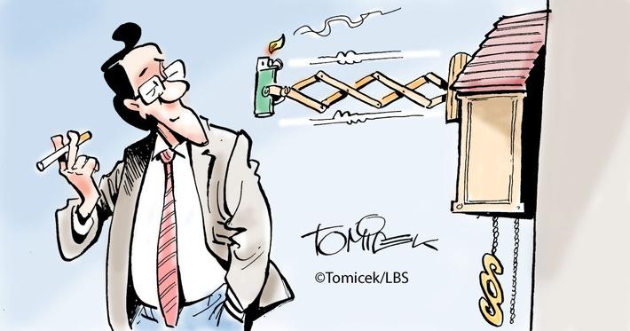 Streit um das Rauchen: Gericht fand eine Lösung für die beiden Parteien