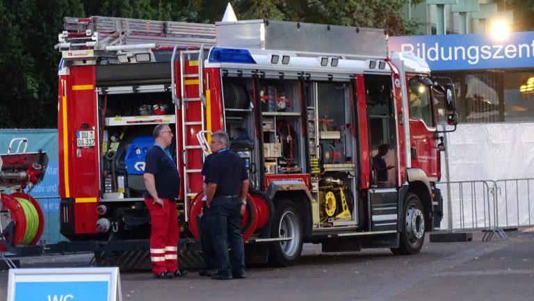 Friedrichsthal: 5 Tonnen schwere Arbeitsbühne überrollt 47-jährigen Mann