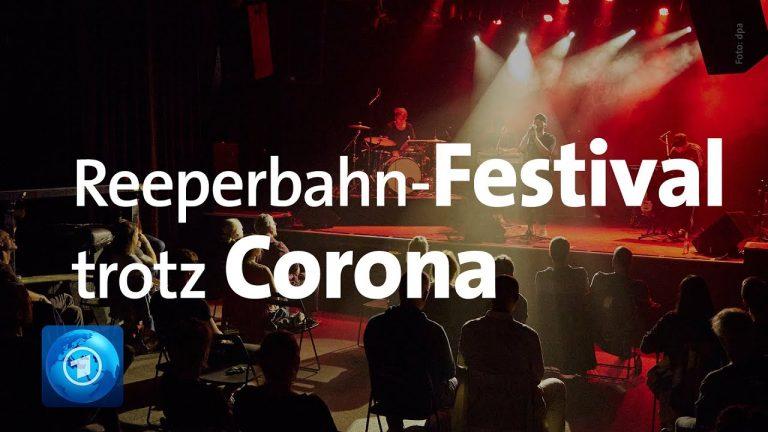 Trotz Corona: Reeperbahn-Festival in Hamburg gestartet