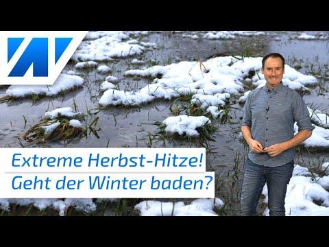 Fällt der Winter 2020/21 komplett ins Wasser? Welche Auswirkung hat die extreme September-Hitze?