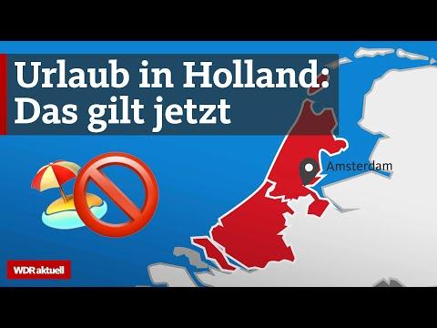 Urlaub in Holland? Aktuell sind sie Corona-Risikogebiete