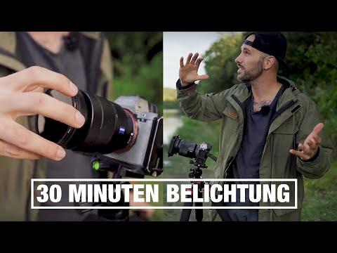 30 Minuten Belichtung mit 3 ND Filtern – Ob das klappt?