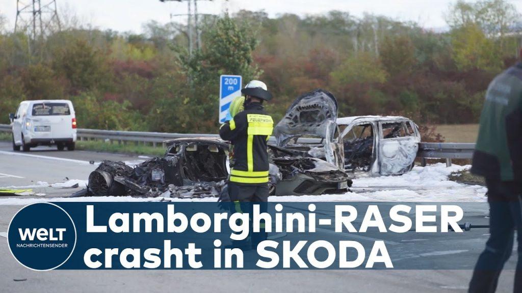 TÖDLICHER UNFALL AUF A66: Illegales Rennen – Lamborghini rast in Kleinwagen