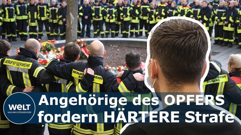 URTEIL IN AUGSBURG: Feuerwehrmann getötet – 17-Jähriger bekommt vierjährige Haftstrafe