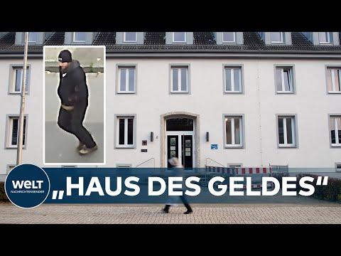 FILMREIFER COUP in NRW: 6,5 Millionen Euro aus Zollamt in Emmerich geraubt