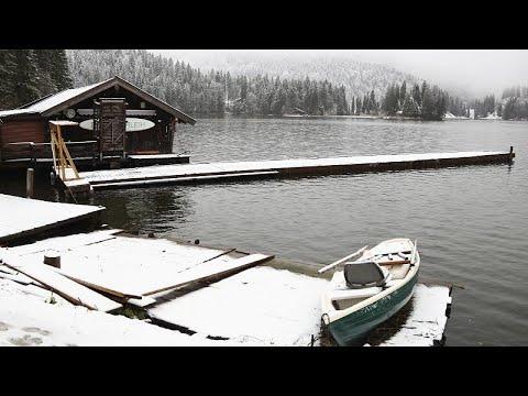 Erster Schnee: Weiße Pracht in Bayern, Chaos in China