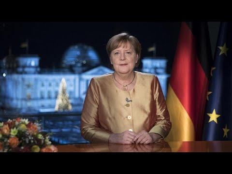 Rückblick auf ein schweres Jahr: Merkels letzte Neujahrsansprache
