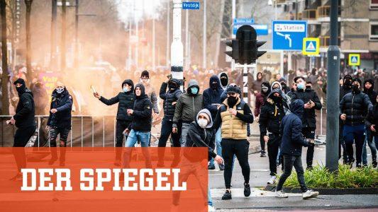 Corona-Proteste in den Niederlanden: Mit Steinen gegen die Ausgangssperre