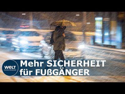 BERLIN: Erstes Fußgängergesetz beschlossen – Längere Ampelphasen und mehr Zebrastreifen