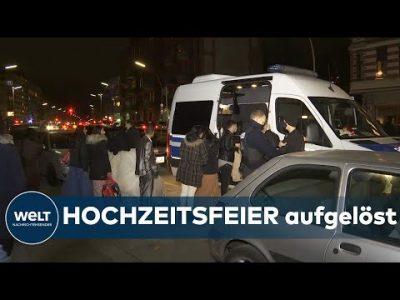 POLIZEI löst HOCHZEIT auf: 60 Hochzeitsgäste verstoßen in Berlin gegen CORONA-REGELN