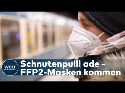 CORONAVIRUS: Kommt jetzt die bundesweite FFP2-Masken-Pflicht?