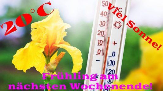 20 °C am nächsten Wochenende. Krasser Wetterumschwung. Morgen Eisregen-Unwetter. Februar zu warm?