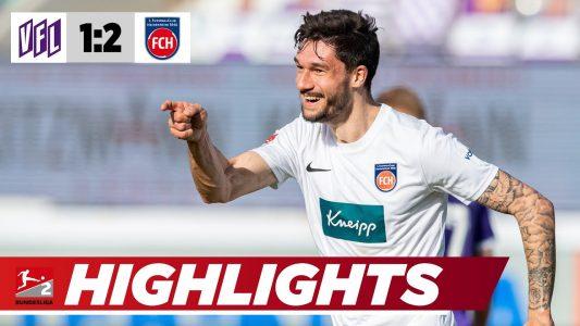 2. Bundesliga-Highlights: Osnabrück – Heidenheim 1:2