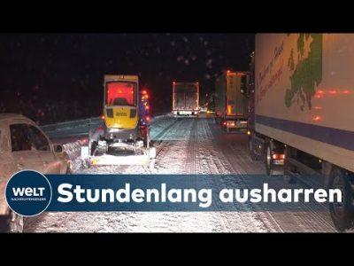 CHAOS UND KÄLTE: Der Wintereinbruch hat Deutschland fest im Griff