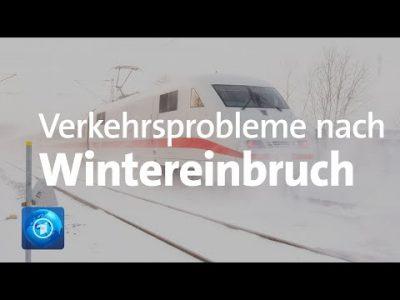 Nach Wintereinbruch: Weiter Einschränkungen im Verkehr