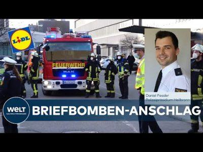 """Polizei zu BRIEFBOMBE bei LIDL: """"Ermittlungen laufen auf Hochtouren"""""""