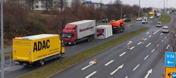 Verdi fordert wegen Corona humanere Touren-Planung für Lkw-Fahrer