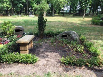 Strelitz: Diebstahl einer Natursteinbank vom Friedhof