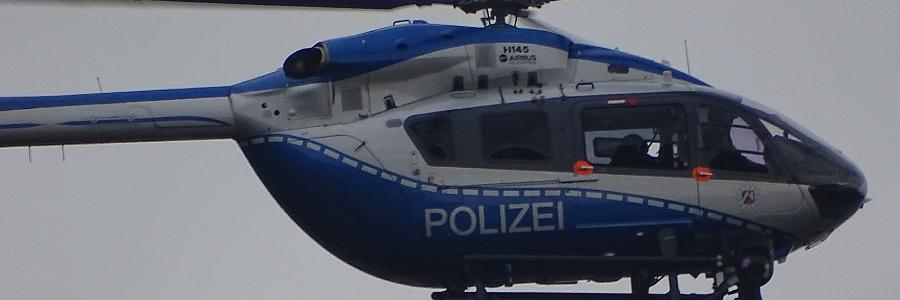 Quakenbrück: Polizeihubschrauber suchte nach Seniorin