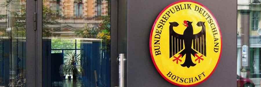 Deutsche Botschaften zumeist noch unter männlicher Leitung