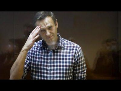 Alexej Nawalny tritt in den Hungerstreik