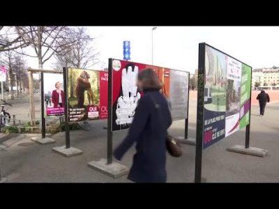 Schweizer Bürger stimmen über Verhüllungsverbot ab