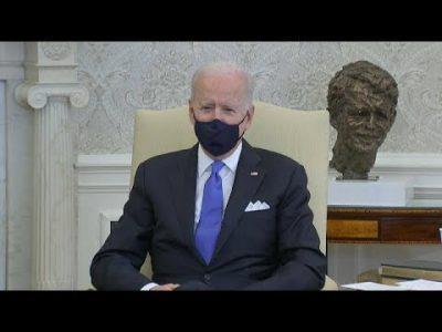 """""""Wir brauchen kein Neandertaler-Denken"""": Joe Biden kritisiert Lockerungen"""