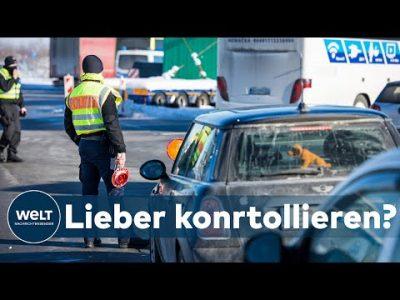 VIRUSVARIANTENGEBIETE: Grenzverkehr unter Beobachtung – Deutschland behält Corona-Lage im Blick
