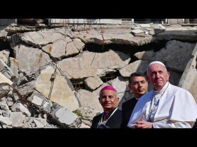 Irakreise fortgesetzt: Papst besucht Mossul