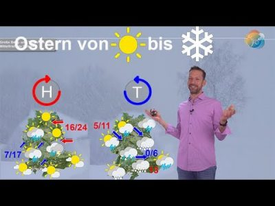 Update Ostertrend: Von Sonne bis Schnee, von Frühsommer bis Winter ist alles möglich. Wilde Modelle!