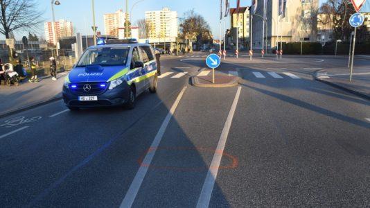Bremerhaven: Kind bei Verkehrsunfall verletzt