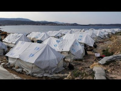 Übergangslager: Droht die nächste Eskalation auf Lesbos?