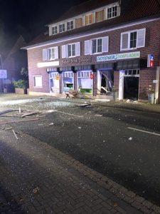 Nottuln: Geldautomat im Dorfladen gesprengt
