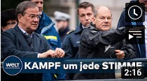 WAHLKAMPF-ENDSPURT: Wie Armin Laschet die Bundestagswahl 2021 noch gewinnen will