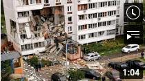 Russland: Mehrere Tote bei Gasexplosion in Wohnhaus