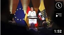 """Merkels Kritik bei der Einheitsfeier: """"Da wird die Demokratie angegriffen"""""""