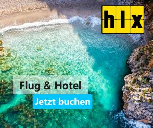 HLX: Flug & Hotel jetzt buchen für Strandurlaub, Städtetrip…