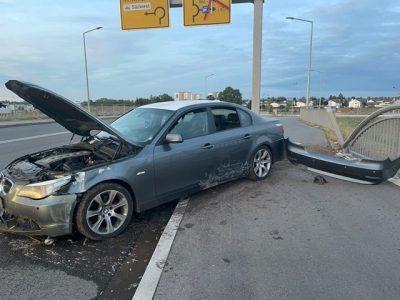 Worms: Fahrer flücht nach Verkehrsunfall unter Alkoholeinfluss
