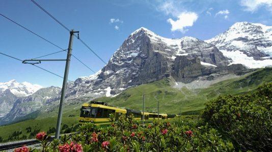 """Vierteilige Dokureihe in 3sat: """"Traumhafte Bahnstrecken in der Schweiz II"""""""